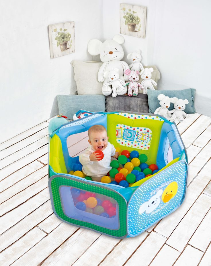 ¡Piscina de bolas para bebés! Tu peque no dejará de reir ;) ¡Prepárate para las carcajadas! #piscina #bebe #juguete #imaginarium