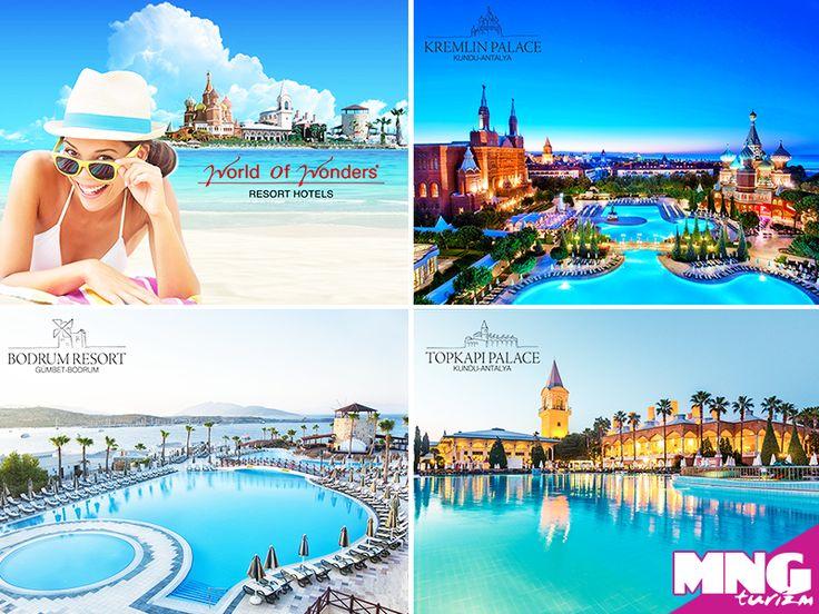 Kurban Bayramı'nda Antalya ve Bodrum'un en güzel sahillerine kurulmuş olan WOW Otelleri'nde her şey dahil konseptte eksiksiz bir tatil yapabilirsiniz. bit.ly/MNGTurizm-WOWOtelleri-s