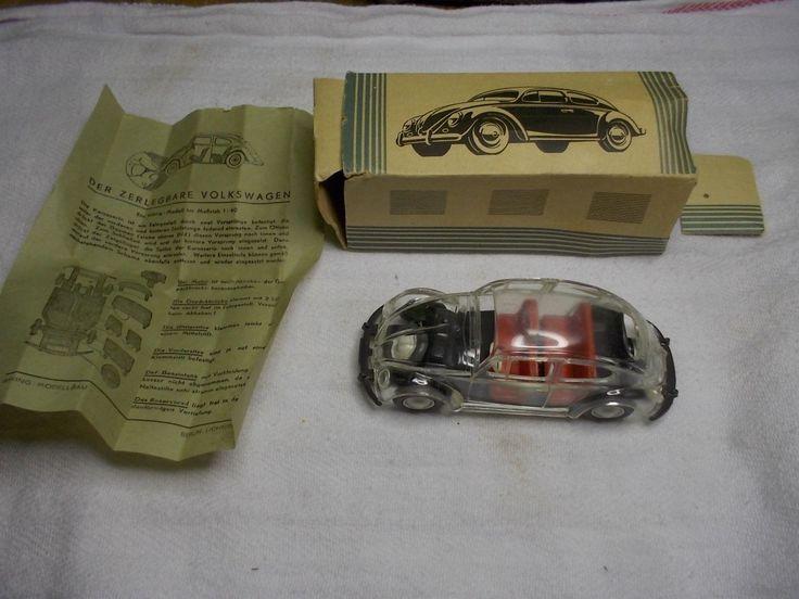 Early VW Volkswagen Dealer Toy Model in Box 1950s?