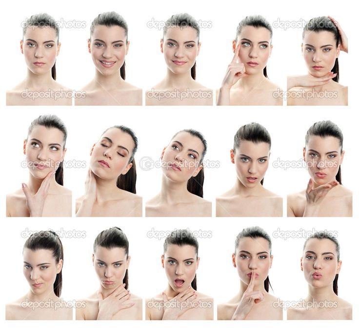 Výrazy obličeje — Stock obrázek #25985981