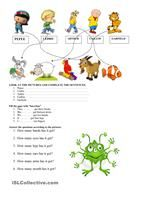 This worksheet has 2 tasks:1 - students fill in gaps with the words supplied to practise describing people.2 - students complete the gaps with to be and have got (affirmative and negative). - ESL worksheets