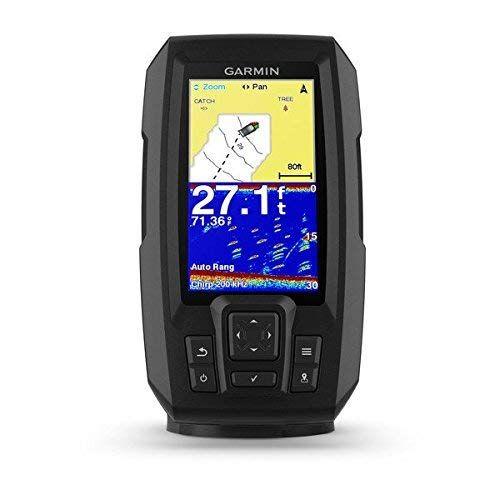 Get Garmin 010 01870 00 Striker Plus 4 With Dual Beam Transducer 4 Inches Pesca Software Mapas