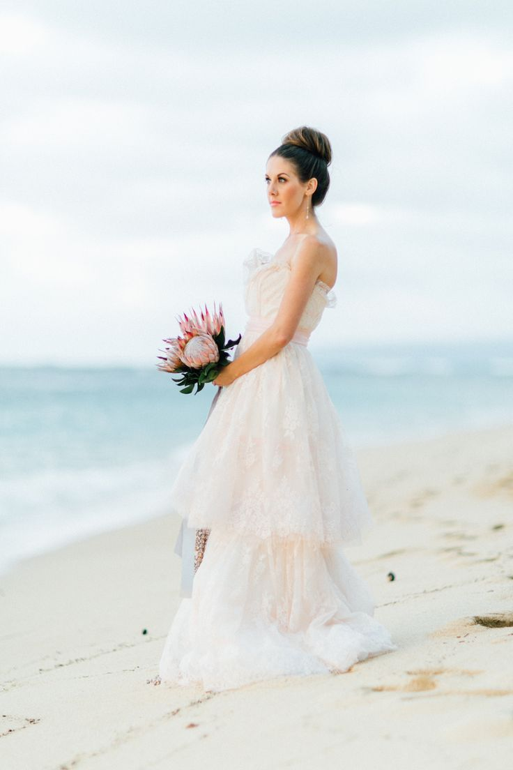 50 Beautiful Beach Wedding Dresses That Will Make You Want