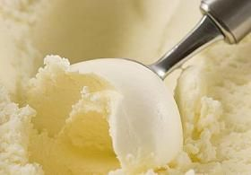 Suger free ice cream with Stevia!!  I'm making this with local strawberries this weekend :)