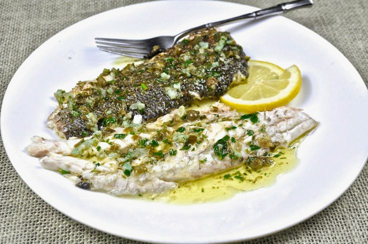 Ciao chow linda roasted whole branzino fish pinterest for Branzino fish recipes