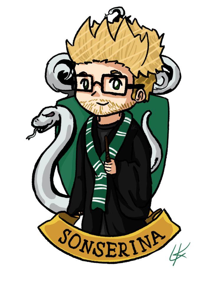 Sonserina (Slytherin)|LubaTV by LK-Draw.deviantart.com on @DeviantArt