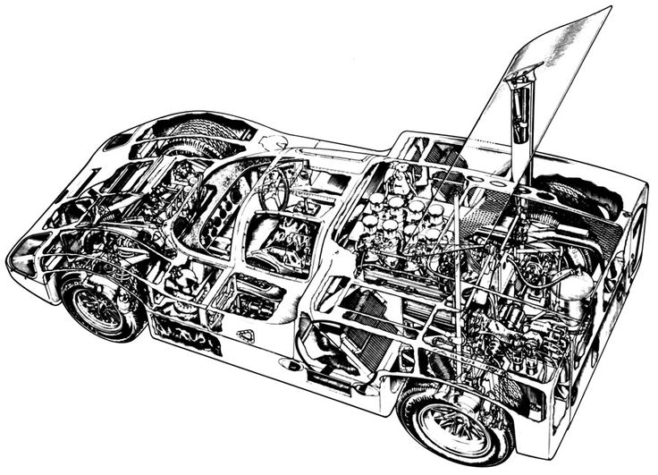 462 best cutaway  automotive images on pinterest