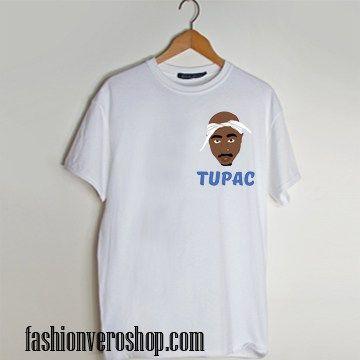 Tupac cartoon t shirt men and t shirt women by fashionveroshop