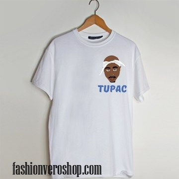 Tupac cartoon t shirt men and t shirt women by fashionveroshop