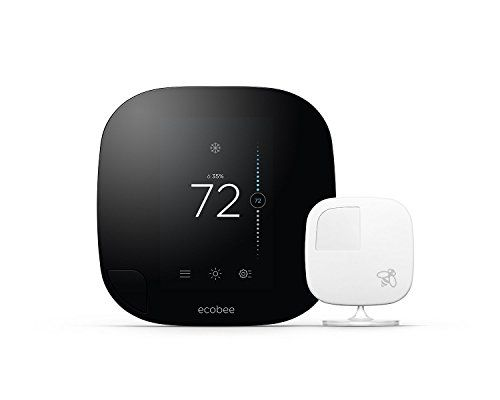 Works with Amazon Alexa for voice control (Alexa device sold separately) Smart, really smart - intuitively understands when to turn on your heating or cooling equipment based on your home's unique energy profile, the weather outside, and thousands of other data points to make sure you're comfortable at all times Knows you have a life - senses whether anyone's home and which rooms are occupied, delivering comfort when you're at home and saving you energy and money when you'...