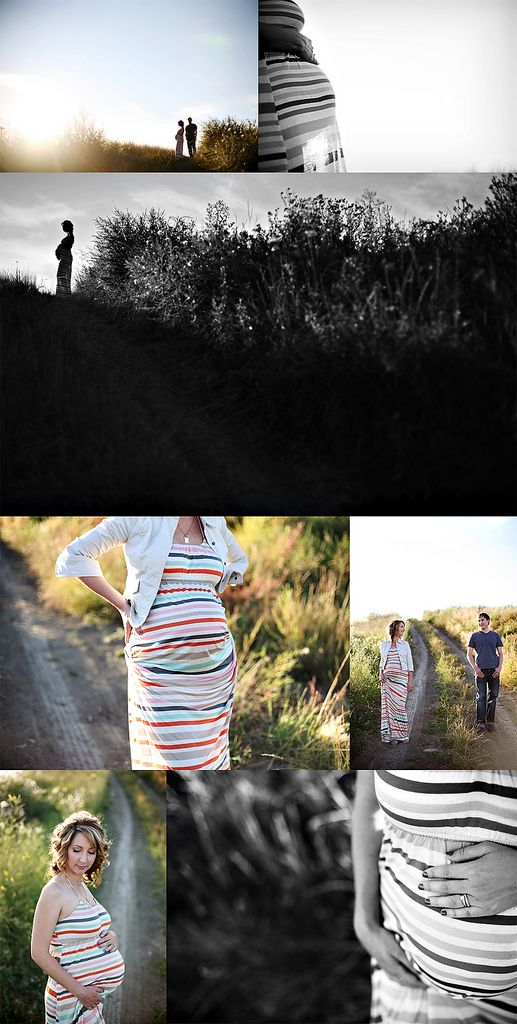 striped rainbox maxi dress? yes, please!