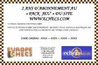 Boutique en ligne - Europe Echecs