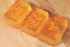 Мыло с лимонной цедрой, МК
