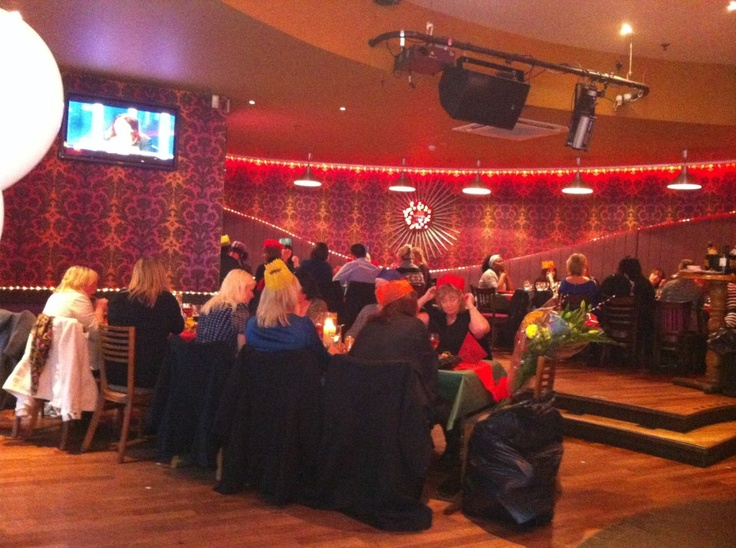 Care Learning Centre 2012 Christmas do at Bar 38, Gunwarf Quays.