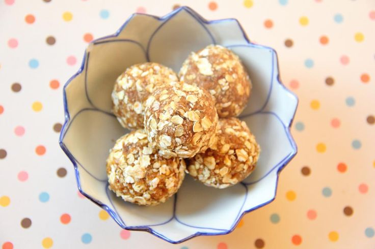 Caramel Oat Bites |Raw Vegan | From @TheTofuDiaries