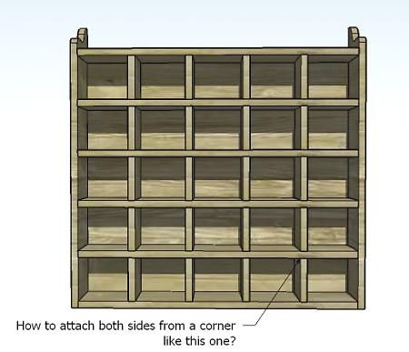 build your own 25 unit cubby case. This website has TONS of free furniture building ideas and detailed plans. : Wall Cubbie, Diy'S, Diy Furniture, 25 Cubbies, Furniture Plans, Easy Diy, Ana White, Diy Projects
