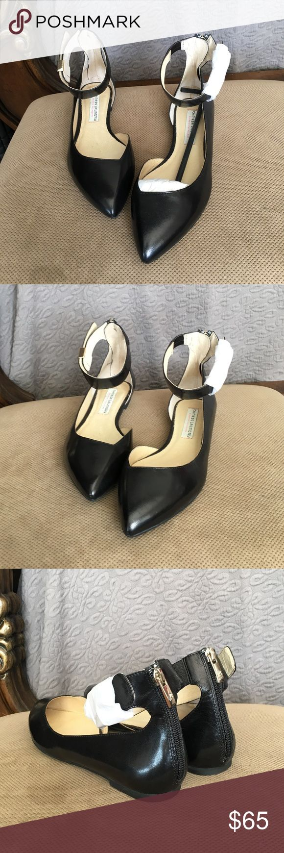 Chinese Laundry Kristin Cavallari Pointed Flats In excellent condition, they have never been worn. Genuine leather, they will fit with anything you choose to wear. Chinese Laundry Shoes Flats & Loafers