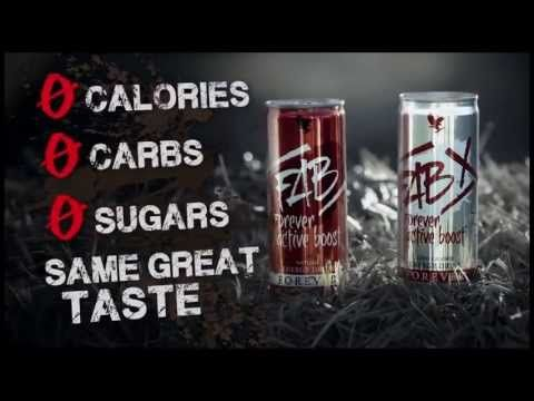 FAB X Forever Active Boost™ Energy Drink