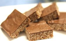 MARS BAR SLICE!! 200 g cadbury dairy milk, use full cream milk 3 cups of Kelloggs Rice Bubbles 90 g butter, use salt free butter 3 Mars Bars, melt them for 5 minutes