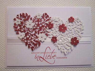 Betty's Papercrafts: Hochzeitskarte