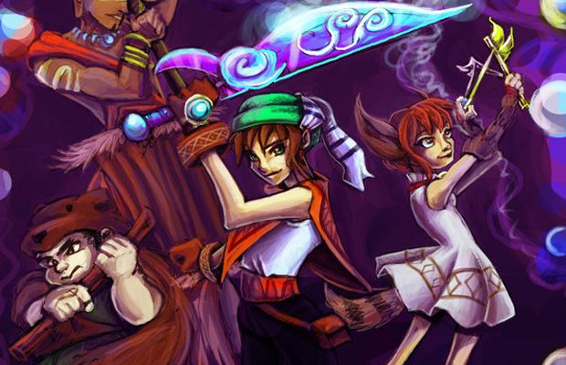 Creative Dark Cloud and Dark Chronicle Artwork