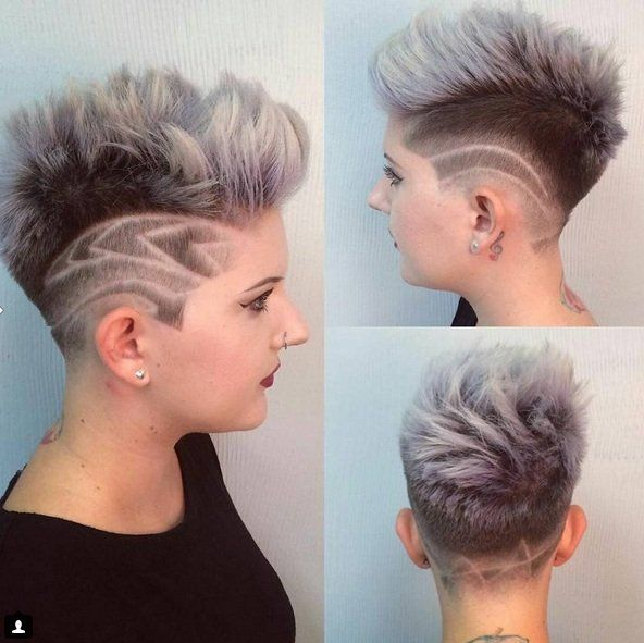 hair style for 40 23 best figuren in je haar durf je images on 8653