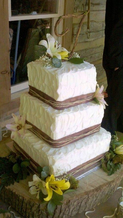 Rustic Wedding Cake Nashville