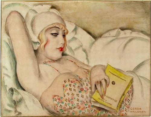 La Sieste, Gerda Wegener, 1922