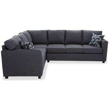 Sectionnel avec sofa lit int gr 2 mcx de aman 1222 tanguay maison p - Sofa lit confortable ...