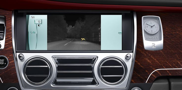 """A clearer vision  A discreet infrared camera in the grille detects body heat of pedestrians and animals up to 300 metres away. Their thermal image is shown on the Control Centre Display, giving you time to pass them safely. Thanks to the high-resolution 10.25"""" screen you will enjoy a crystal clear picture on the Multimedia Interface. Every detail has been considered, right down to the 3D city view in navigation, which gives you a realistic interpretation of streets and buildings."""