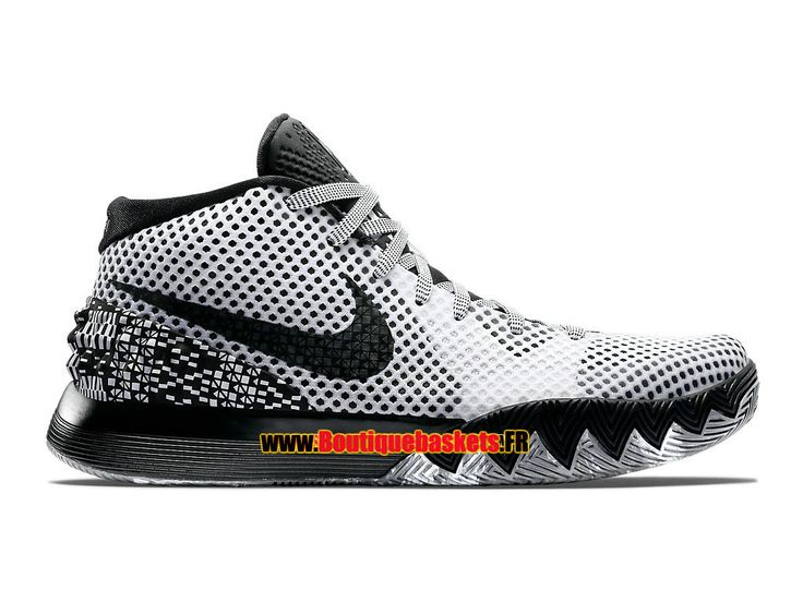 NIKE KYRIE 1 BHM - MEN�S NIKE BASKETBALL SHOE WHITE/BLACK-DARK