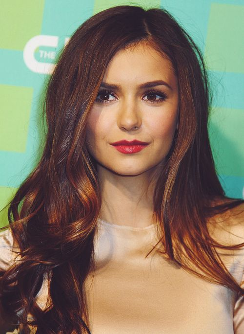 Nina Dobrev... Flattered the day I was told I look like her! I love her and her bf! <3