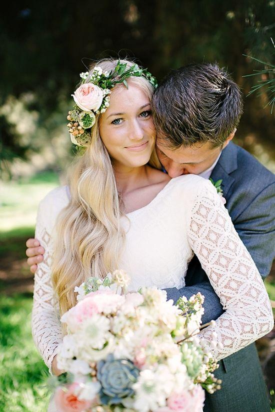 Chic Whimsical Wedding At Dove Canyon Courtyard Wedding