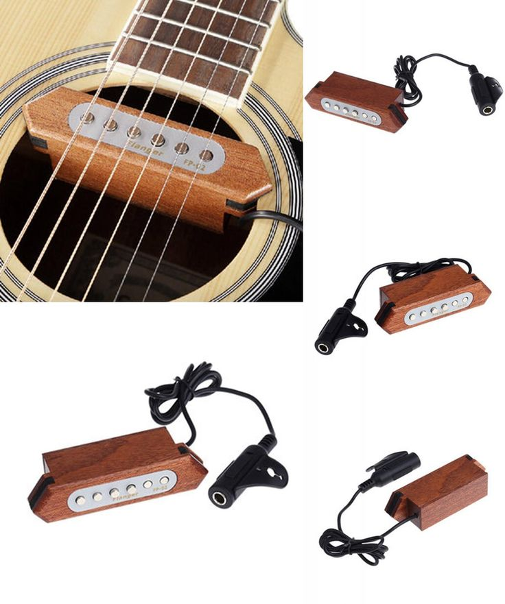 [Visit to Buy] Brand Flanger FP-2 Wood Acoustic Guitar Pickup Sound Hole Pickup Acoustic Guitar Accessories #Advertisement