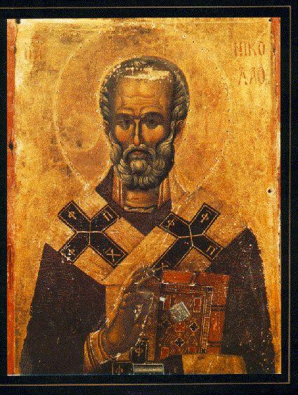Sv.nikola Stnicolas Serbian Monastery Hilandar Mt.athos