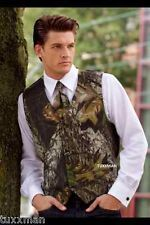camouflage tuxedos for weddings | ... Mossy Oak Break up Tuxedo vest Long tie Camo Made in USA all sizes