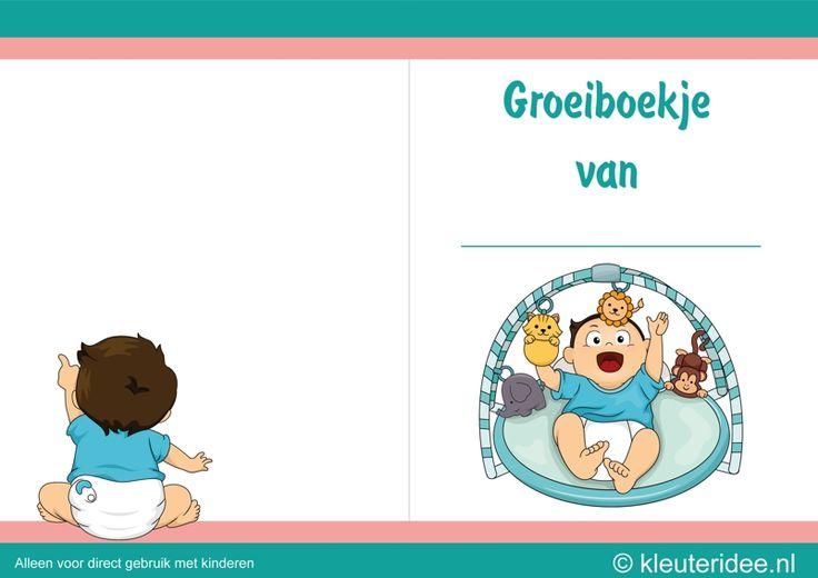 Zuigelingenbureau met rekenactiviteiten voor kleuters 9, thema baby's, kleuteridee.nl, met gratis groeiboekje download