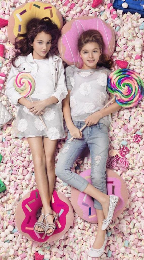 Patrizia Pepe for girls, moda para chicas summer collection- We❤️it! @dimitybourke.com kidsfashion