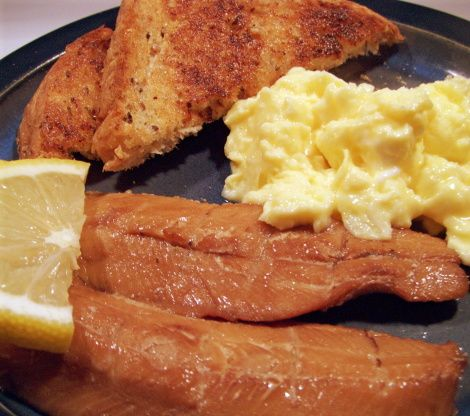 Smoked Kippers With Scrambled Eggs Recipe - Food.com