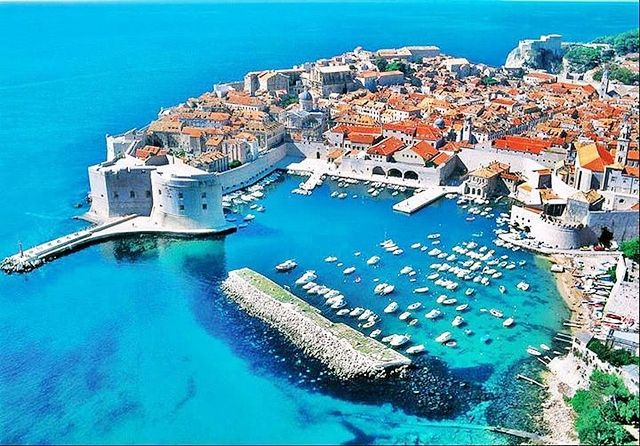 Global view of Dubrovnik