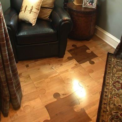84 best puzzle pieces images on pinterest puzzle pieces for Wood floor pieces