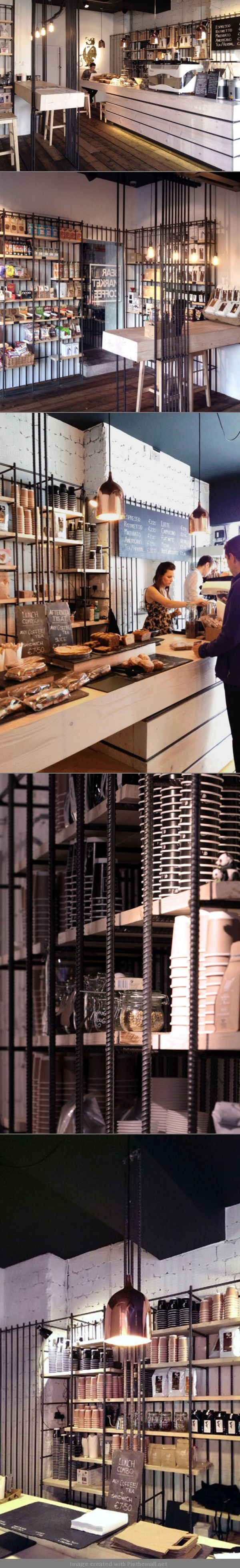 coffe shop in Dublin By VAV architects