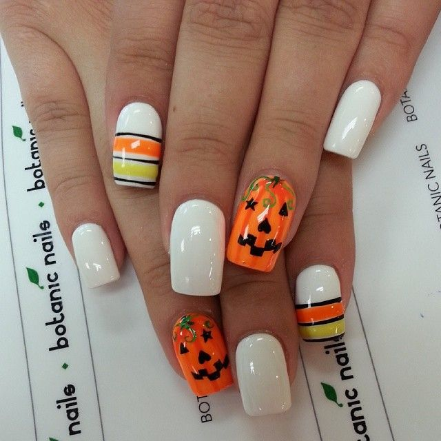 43 best halloween acrylic nail art images on pinterest nail i am unfolding before you 20 halloween pumpkin nail art designs ideas trends stickers of i hope you have a great fun time on october have a prinsesfo Image collections