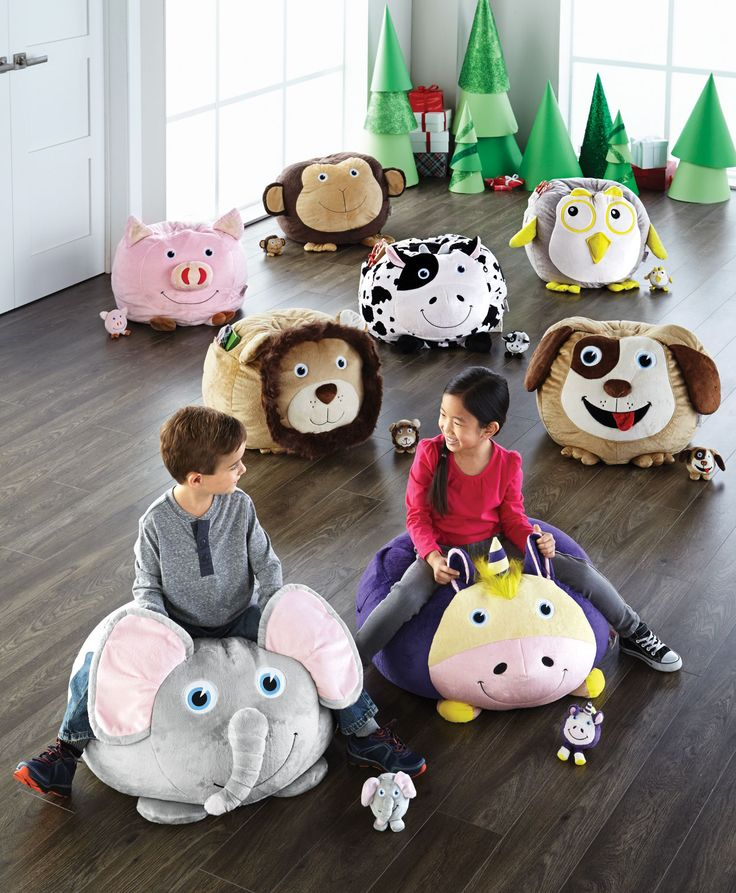 My son would LOVE to get one of these under the tree!   #SearsWishlist BEAN BAGIMALS™ Unice the Unicorn™ Bean Bag