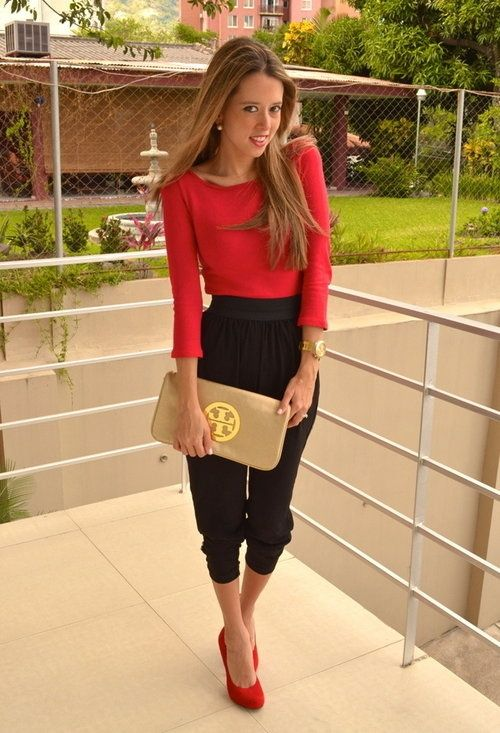 Parachute pants...I'm pretty sure I just bought a pair this last week, and I'm excited to wear them this fall!