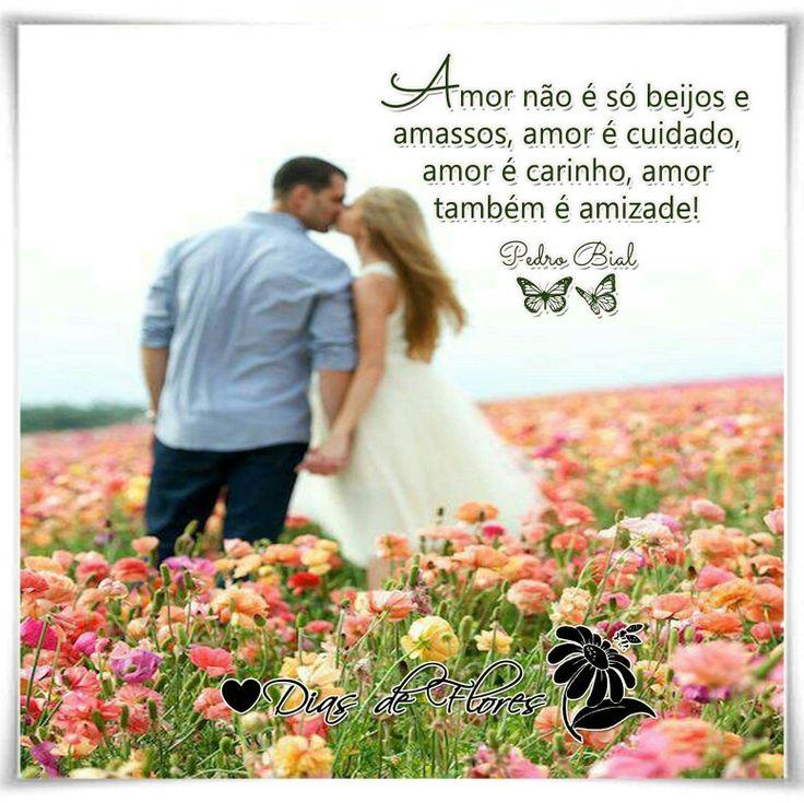 ✿⊱╮✿⊱╮✿⊱╮  Os casais bonitos são aqueles que acima de namorados, são amigos. Brincam, brigam, tiram sarro um do outro, se mordem, beliscam, mas se amam de um jeito que nenhuma pessoa do mundo consegue duvidar. Amor não é só beijos e amassos, amor é cuidado, amor é carinho, amor também é amizade! Pedro Bial