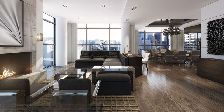 The Bond Penthouse Model Suite – Tomas Pearce Interior Design Consulting Inc.