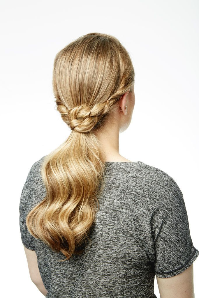 This 3-Step Ponytail Tutorial Will Upgrade Your Holiday Hair Game