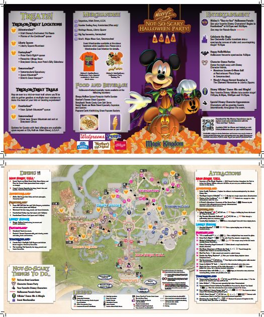 Guide to Mickeys Not So Scary Halloween Party in 2014 from WDWPrepSchool.com
