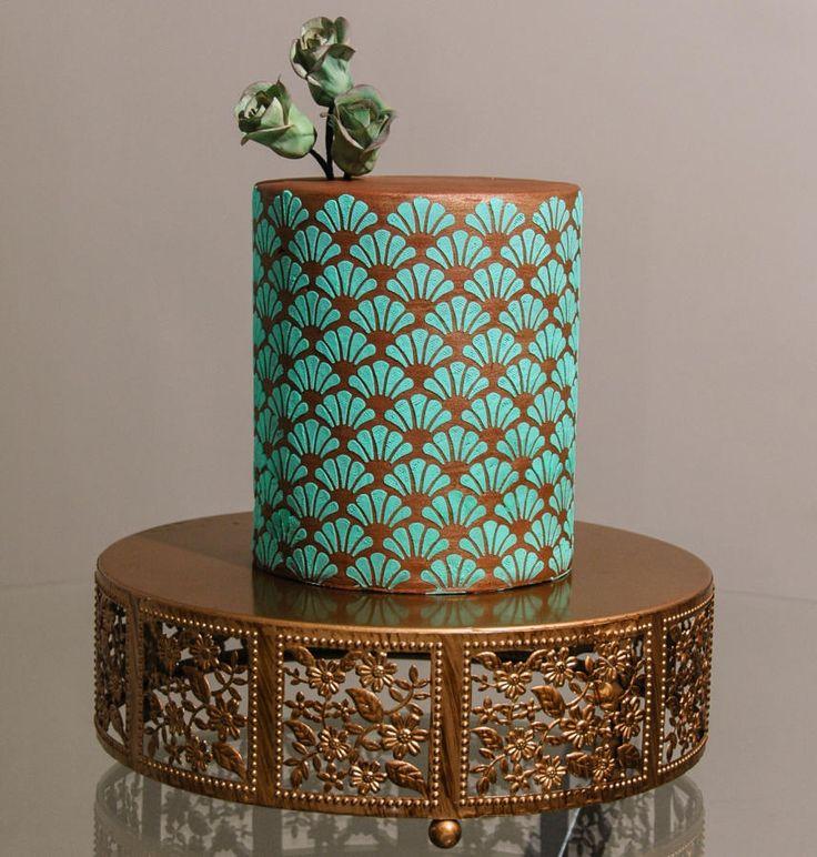 Turquoise Symmetry by Custom Cakes Atelier (Leyda ...